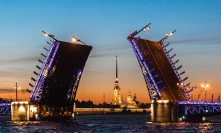 "Night Boat Tour ""Drawbridges of St. Petersburg"""
